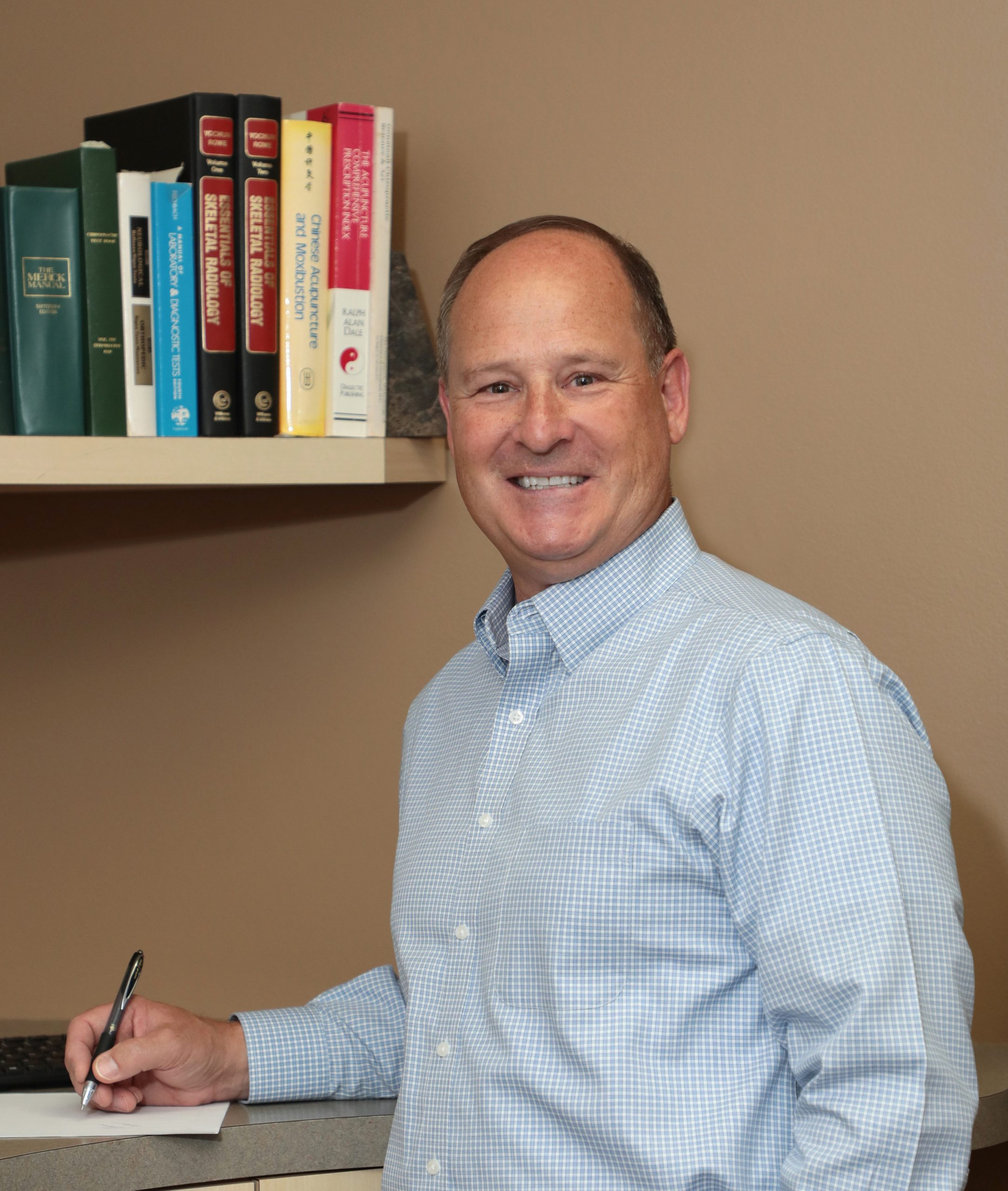 Dr. Rod Langel providing chiropractic care since 1994.